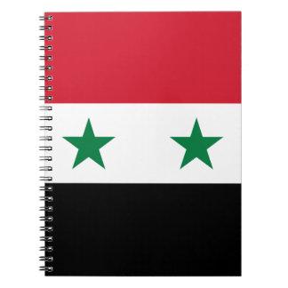 Caderno Espiral Bandeira de Syria