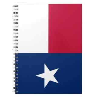 Caderno Espiral Bandeira de Texas