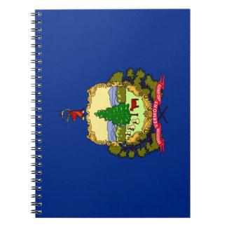 Caderno Espiral Bandeira de Vermont