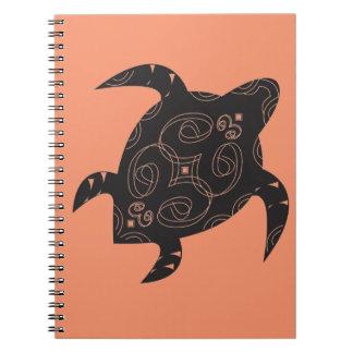 Caderno Espiral Barriga da tartaruga de mar