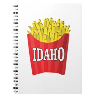 Caderno Espiral batatas fritas de idaho