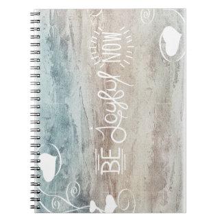 Caderno Espiral Be joyful notitieblok
