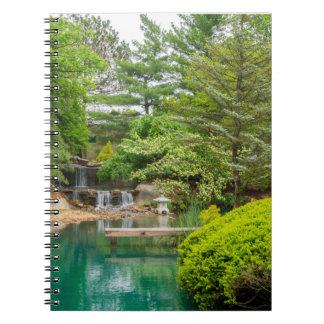 Caderno Espiral Beleza botânica do primavera