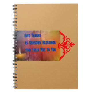 Caderno Espiral Bênçãos a você