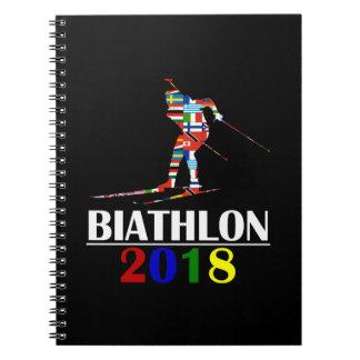 CADERNO ESPIRAL BIATHLON 2018