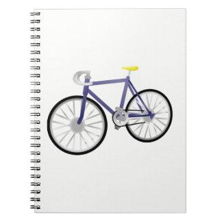 Caderno Espiral Bicicleta