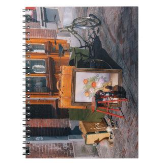 Caderno Espiral Bicicleta asiática