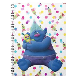 Caderno Espiral Biggie dos troll | & Sr. Dinkles