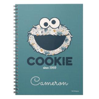 Caderno Espiral Biscoito do monstro | do biscoito desde 1969