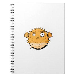Caderno Espiral Blowfish