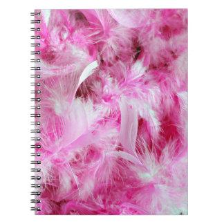 Caderno Espiral Boa cor-de-rosa