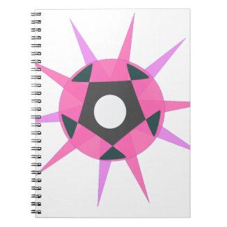 Caderno Espiral Bola com pontos