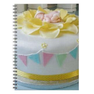 Caderno Espiral bolo _birthday 2