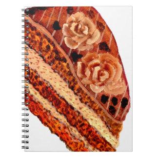 Caderno Espiral Bolo de chocolate 4