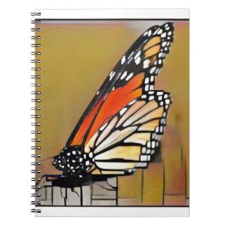 Caderno Espiral Borboleta de monarca