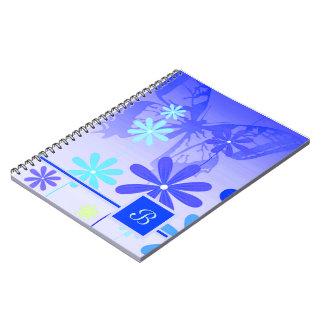 Caderno Espiral Borboletas 3 da flor do duende