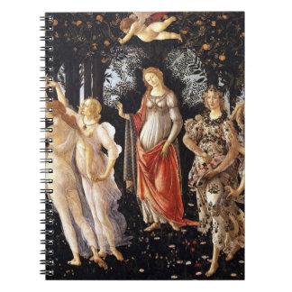 Caderno Espiral BOTTICELLI - Primavera 1482