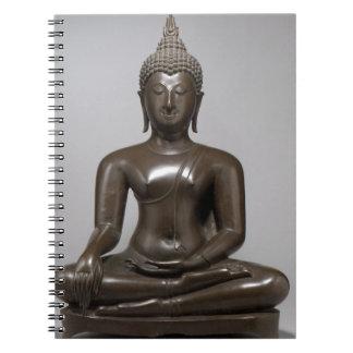 Caderno Espiral Buddha assentado - século XV