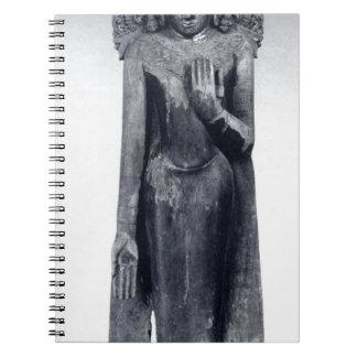 Caderno Espiral Buddha coroado - período pagão