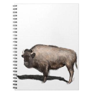 Caderno Espiral Búfalo, Bubalus