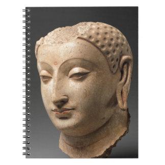 Caderno Espiral Cabeça de Buddha - 5o-6o século