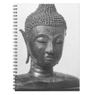 Caderno Espiral Cabeça de Buddha - século XV - Tailândia