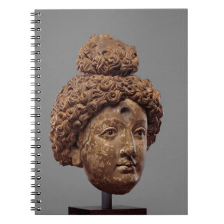 Caderno Espiral Cabeça de um Buddha ou de um Bodhisattva
