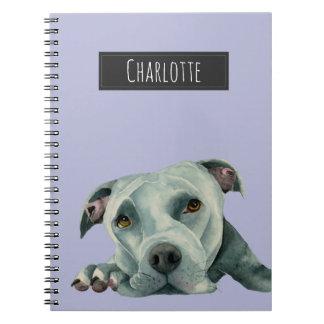 Caderno Espiral Cabeça grande de Ol - o cão que pinta | adiciona