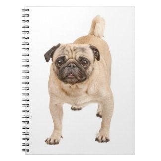 Caderno Espiral Caderno/jornal do cão de filhote de cachorro do