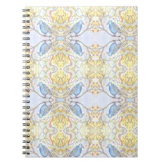 Caderno Espiral Caderno/ Notebook Bird