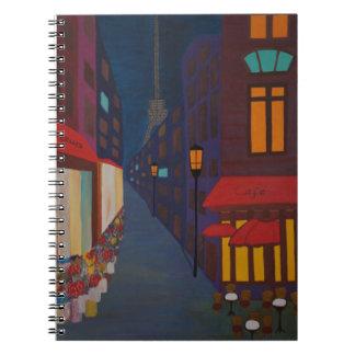 Caderno Espiral Cafetaria em Paris