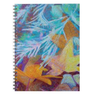 Caderno Espiral Caia no inverno