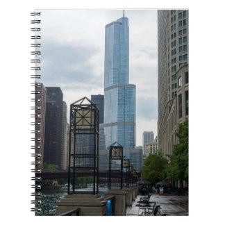 Caderno Espiral Caminhada de Chicago River