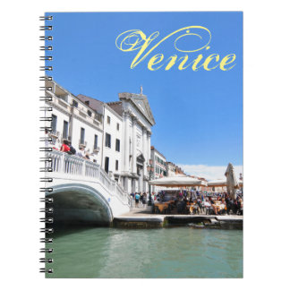Caderno Espiral Canal grande, Veneza, Italia