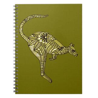 Caderno Espiral Canguru