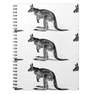 Caderno Espiral canguru encaixotado - no quadrado