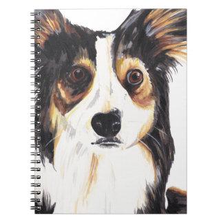 Caderno Espiral Cão do Kelpie