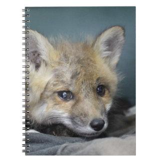 Caderno Espiral Capa de telefone do Fox