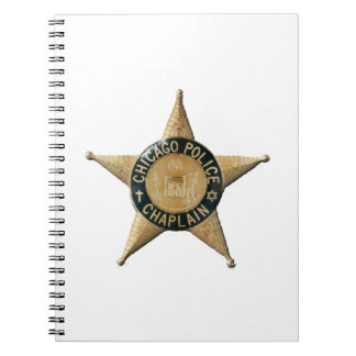 Caderno Espiral Capelão da polícia de Chicago