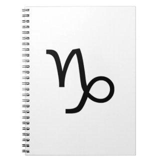 Caderno Espiral Capricórnio