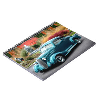 Caderno Espiral Carro 1936 do clássico de Chevrolet do cupé do hot