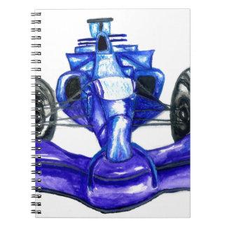 Caderno Espiral Carro desportivo Sketch3