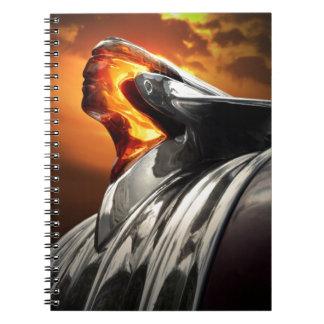 Caderno Espiral Carro principal do clássico de Pontiac Chieftain