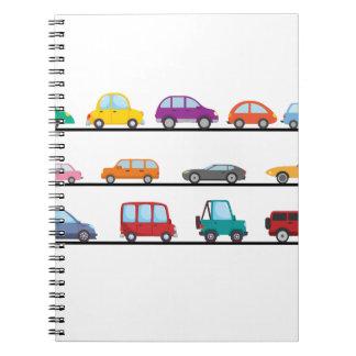 Caderno Espiral carros