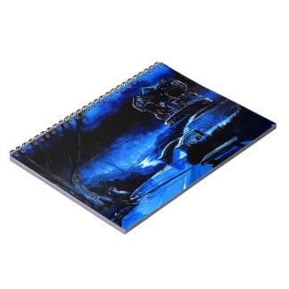 Caderno Espiral Carrossel - parque da consolação