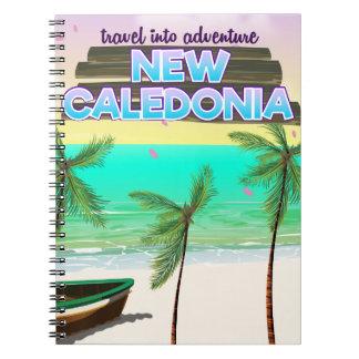 Caderno Espiral Cartaz novo do viagem na aventura de Caledon