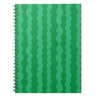 Caderno Espiral Casca da melancia