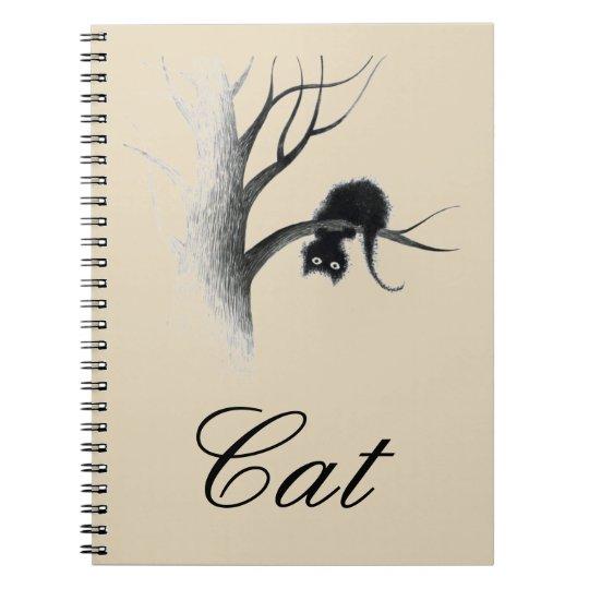 Caderno Espiral cat