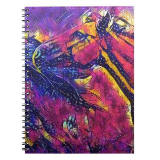 Caderno Espiral Cavalos selvagens