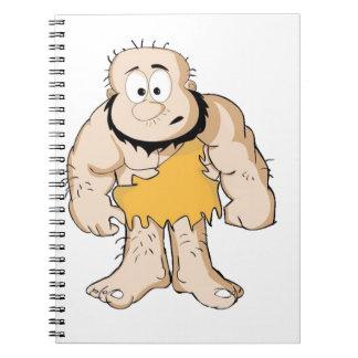 Caderno Espiral caveman_by_shashidhar90